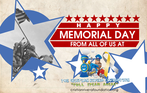 Happy Memorial Day From All Of Us At The Cristian Rivera Foundation